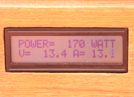 171W of power from the panels